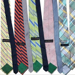 Bundle of Tommy Hilfiger Ties 100% Silk